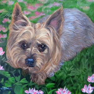 16 x 20 Pet Portrait