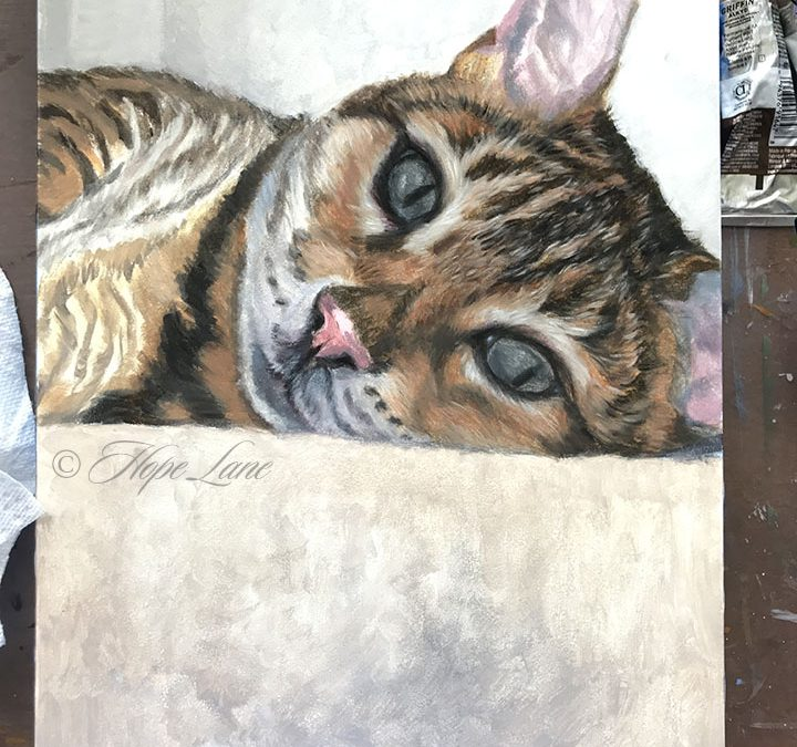 More work on Buck the Cat